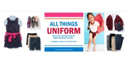 Old Navy: 50% Off School Uniforms, Polos $5