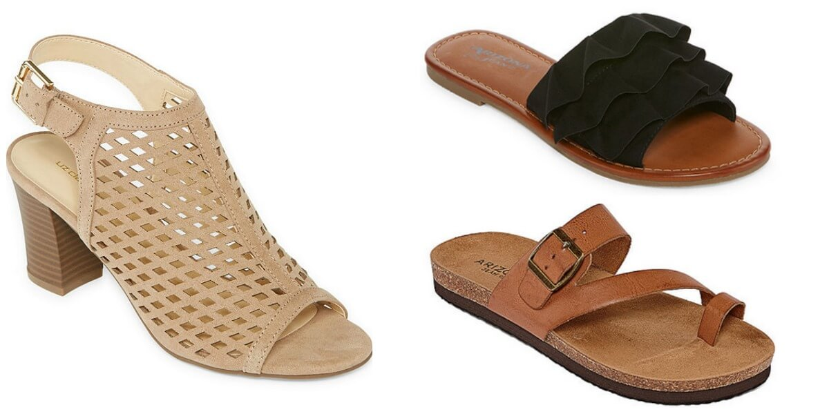 486735b68030 JCPenney  Buy 1 Get 2 FREE Women s Sandals (as low as  6.33 each ...