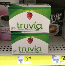 TWO FREE Truvia Sweeteners at Dollar General!