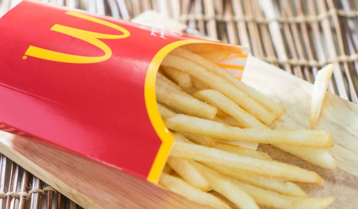 FREE McDonald's French Fries Every Friday this Year!