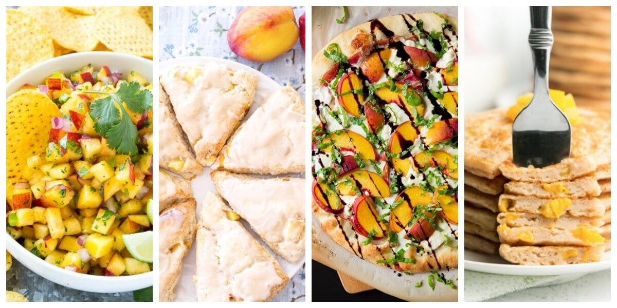 Recipes using peaches