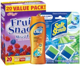 Today's Top New Coupons - Save on Kellogg's, Soft Scrub, Dial & More