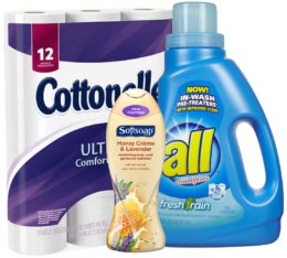 Today's Top New Coupons - Save on Cottonelle, Softsoap, all Detergent & More
