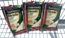 New $0.75/1  Sargento Blends Slices Coupon & Deals!