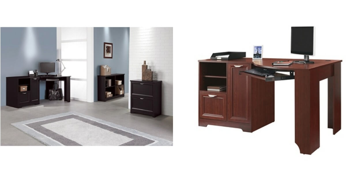 Realspace Magellan Collection Corner Desk 79 99 Reg 239 99