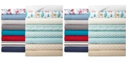 Home Expressions Microfiber Sheet Set: Twin $5.59, XL, Full, Queen or King $10.49