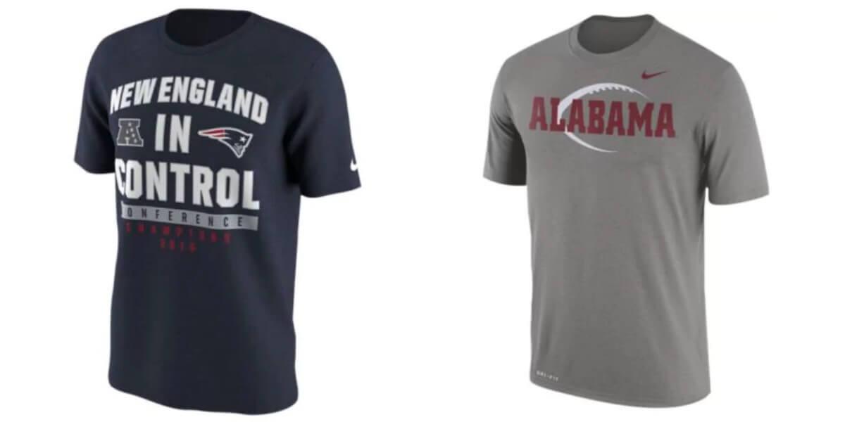 fa6f1dcd Nike Men's College, NFL or MLB T-Shirts $11.24 (Reg. $29.99) + Free  Shipping!
