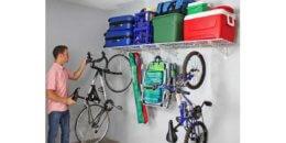 Costco: SafeRacks Wall Shelf Combo Kit, Shelves, Hooks $49.99 (Reg. $79.99)