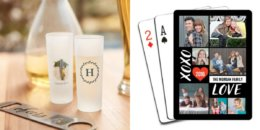 Shutterfly: Pick 3! Puzzle, Shot Glass, Coasters, and/or Playing Cards Just Pay Shipping
