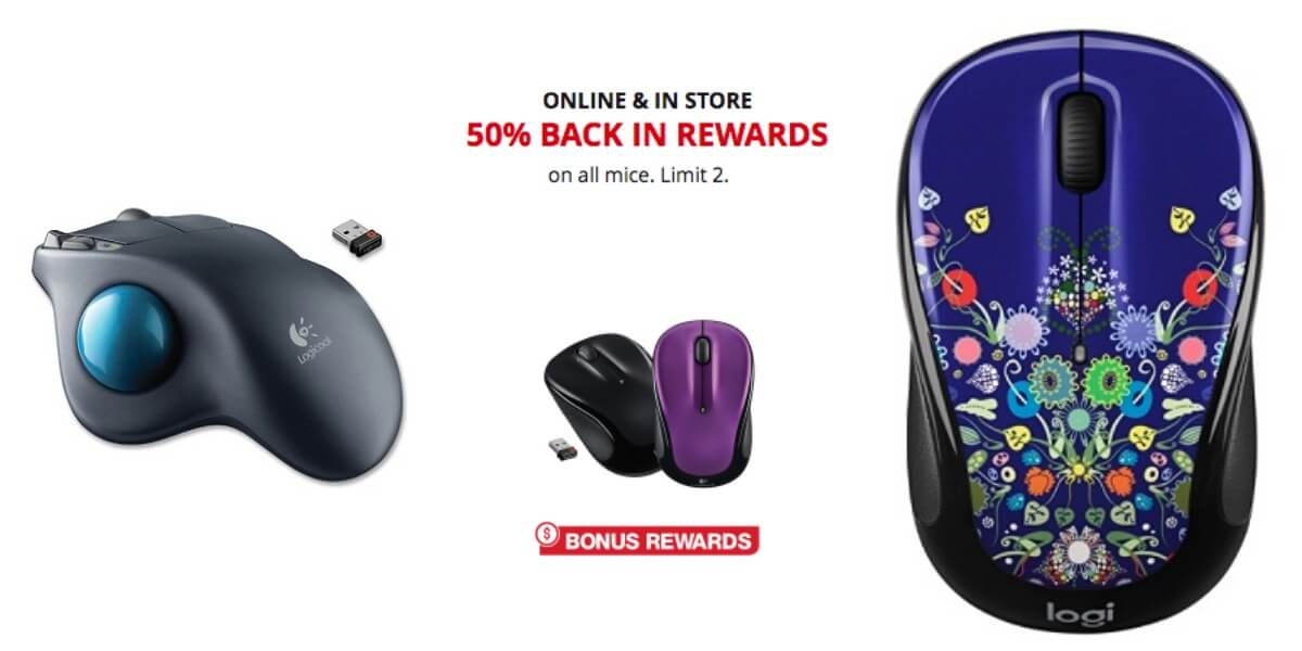 Office Depot Max 50 Back In Rewards On All Mice