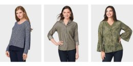 Dress Barn Extra 75% Off Clearance Leggings and Tops Starting at $2.50
