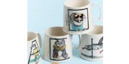 Animal Alphabet Monogram ANTHROPOLOGIE Mug just $5 Shipped!