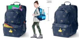 Lands End ClassMate Large Backpack just $11.50 (Orig: $49.95)