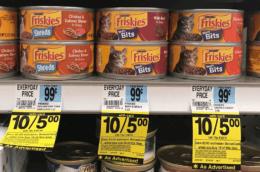 Rite Aid Shoppers - $0.25 Friskies Wet Cat Food!