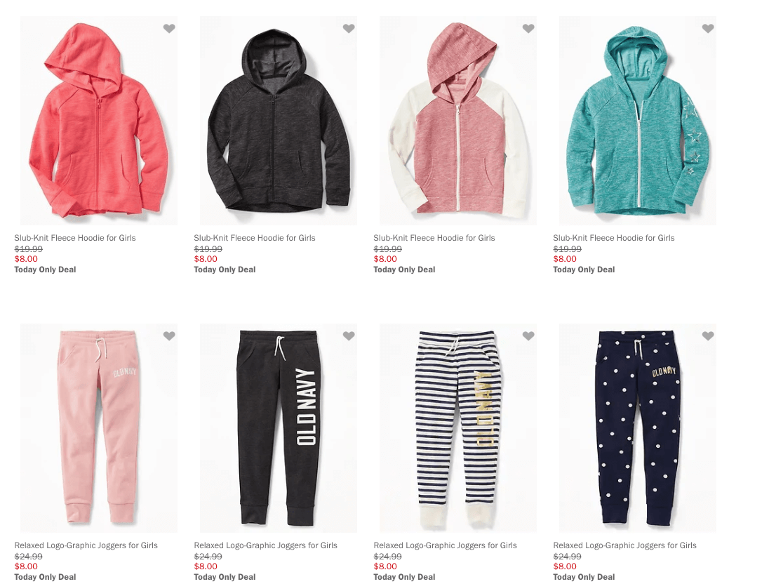 ced71b9b4 Great deal at Old Navy Today Only! Old Navy Kids Hoodies and Joggers just  $8 Free Shipping $50+