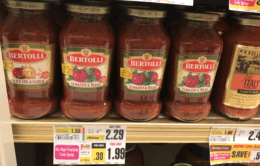 Bertolli Pasta & Alfredo Sauce as Low as  $0.79 at ShopRite !