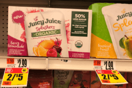 Juicy Juice Splashers only $1.88 at Stop & Shop, Giant, Giant/Martin