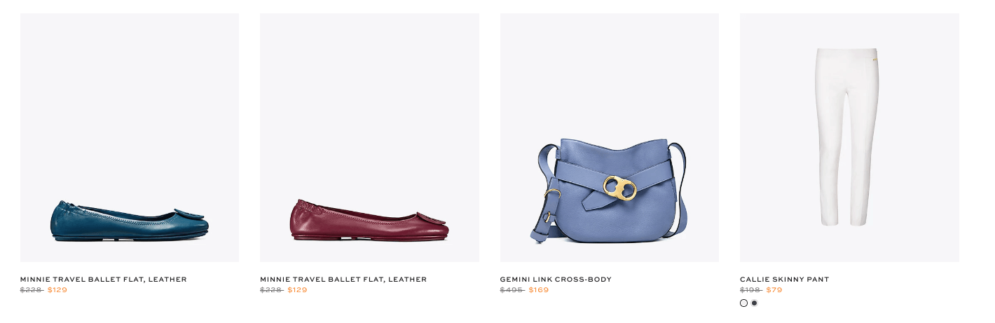 88bb206299ac Do you love Tory Burch but still want a deal  Today is your day! Head to Tory  Burch Private Sale Up to 70% Off Clothing