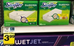 Rite Aid Shoppers - $1.99 Swiffer Wet & Dry Refill Pads!