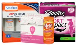 Today's Top New Coupons - Save on Summer's Eve, Playtex, AcneFree & More
