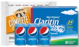 Today's Top New Coupons - Save on Pepsi, Welch's, Claritin & More