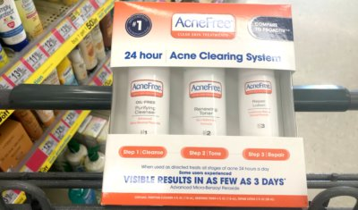 $10 in New AcneFree Skin Care Coupons + Great Deals at Target, Walmart & More!