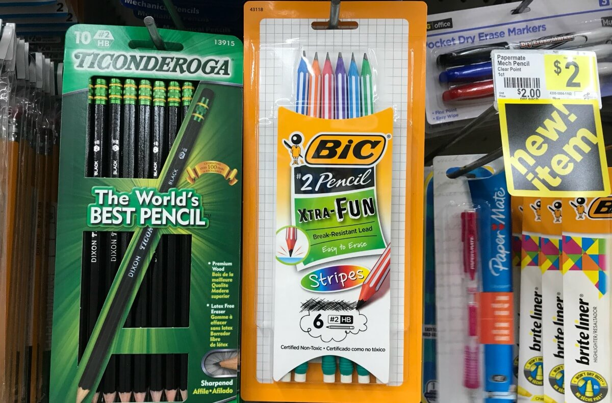 Free Bic Xtra Fun Pencils At Dollar General
