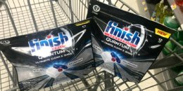 Finish Quantum & Max in 1 Dishwasher Tabs Just $0.99 at ShopRite! {8/25}