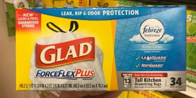 Rite Aid Shoppers - $3.99 Glad Trash Bags {No Coupons Needed}