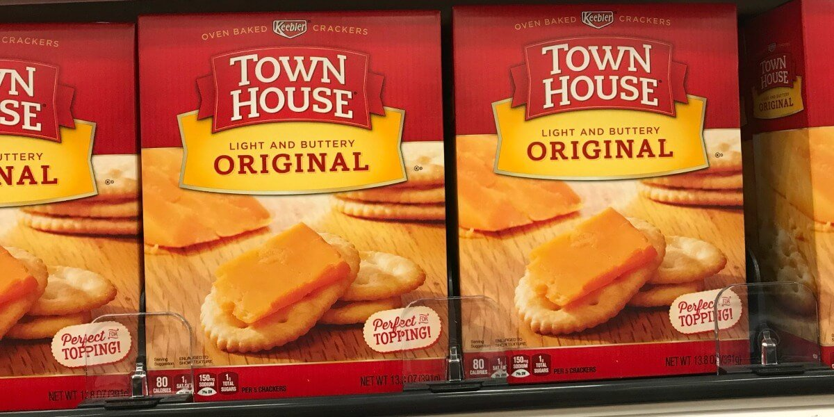 keebler townhouse crackers coupons