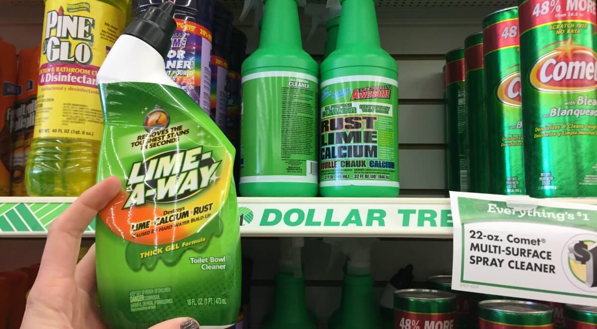Lime A Way Toilet Bowl Cleaner Just 0 25 At Dollar Tree