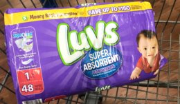 Luvs Diapers Jumbo Packs Just $2.99 at ShopRite! {Ibotta Rebate}