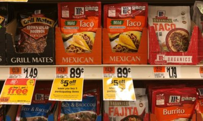 Stop & Shop Instant Savings Deal –  Better Than FREE McCormick Taco Seasoning Mixes {No Coupons Needed}