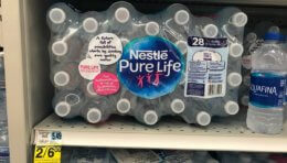 Nestle Pure Life Water, 24pk Only $2.25 at Rite Aid! {No Coupons Needed}