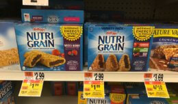 Stop & Shop/Giant Instant Savings Deal –  Nutri-Grain Bars as low as $0.79