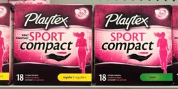 New $2/1 Playtex Sport Compact Tampons Coupon - as Low as $0.49 at ShopRite & More!