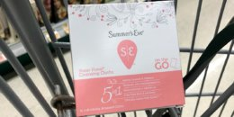 FREE Summers Eve Cleansing Cloths at Target!