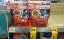 Walgreens Shoppers - $1.99 Tide Pods!