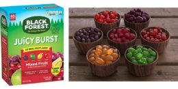 Black Forest Medley Juicy Center Fruit Snacks (40 Count) $4.54 {$.11/Pouch}