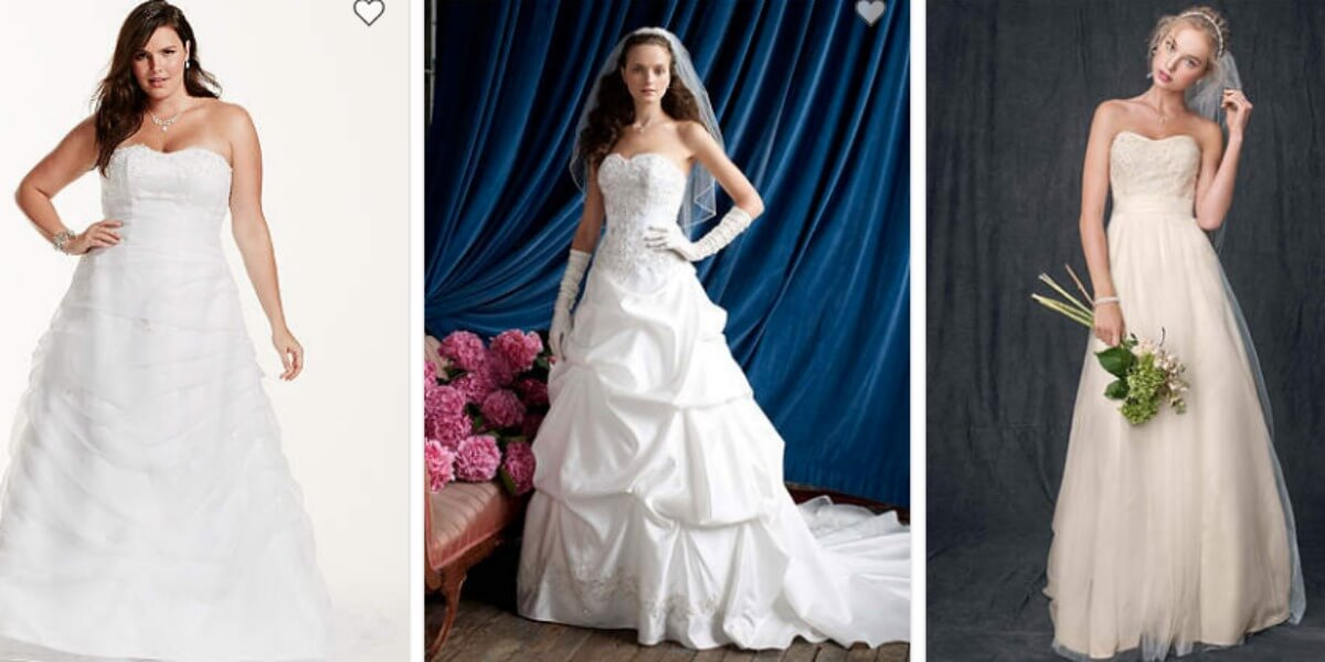 David\'s Bridal Wedding Dresses & Gowns Just $99 (Reg up to $1450 ...