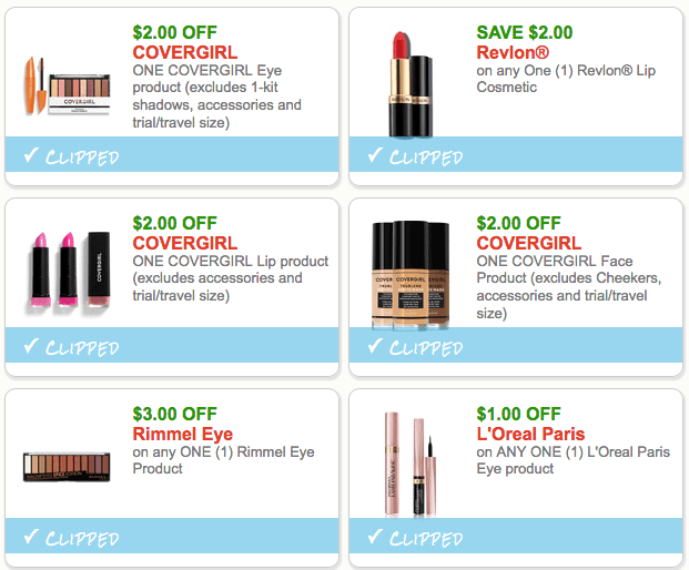 12 Worth Of Cosmetics Coupon Available To Print Now Living Rich