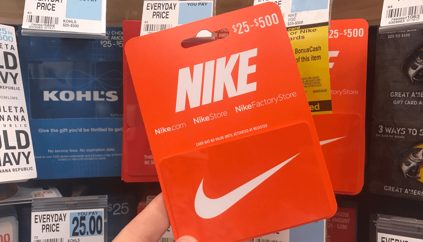 sports shoes 8dc12 cf841 We love gift card deals! This one is super easy! Through 5 11, Rite Aid is  offering  8 wellness+BonusCash when you Spend  50 on Spa   Wellness or Nike  Gift ...
