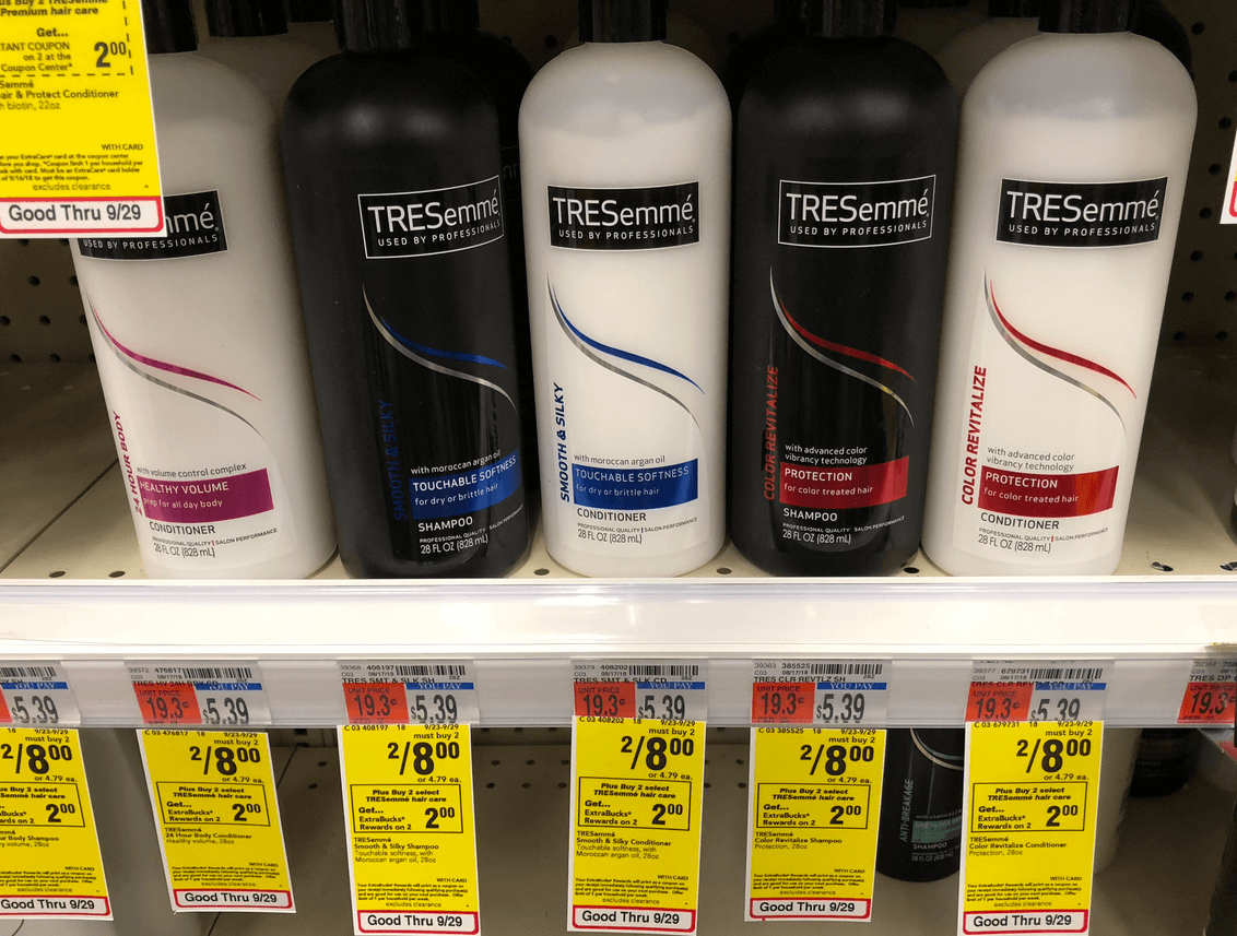 Tresemme coupons 2018