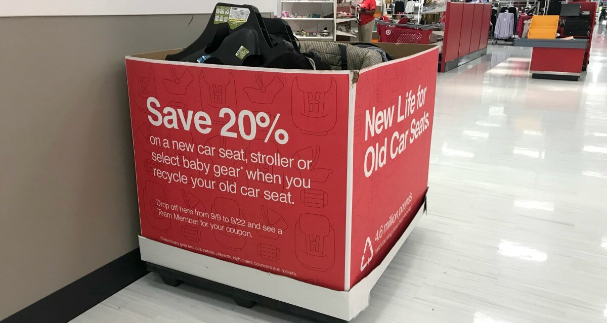 Get A 20 Off Coupon When You Trade In An Old Car Seat At TargetLiving Rich With CouponsR