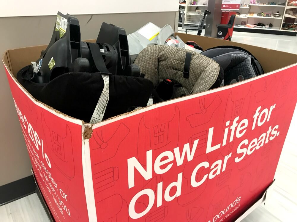 Targets Car Seat Trade In Event