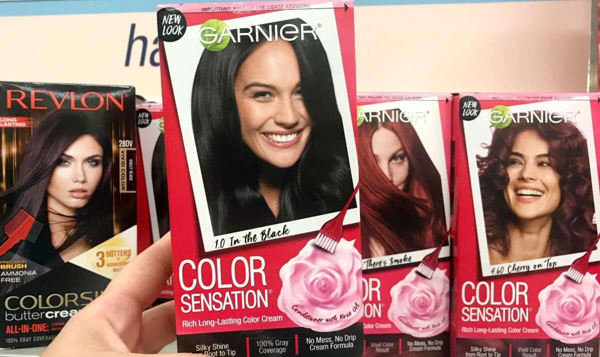 New 12 Garnier Color Sensation Hair Color Coupon Dealsliving
