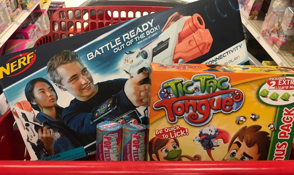 Targets Top Toys