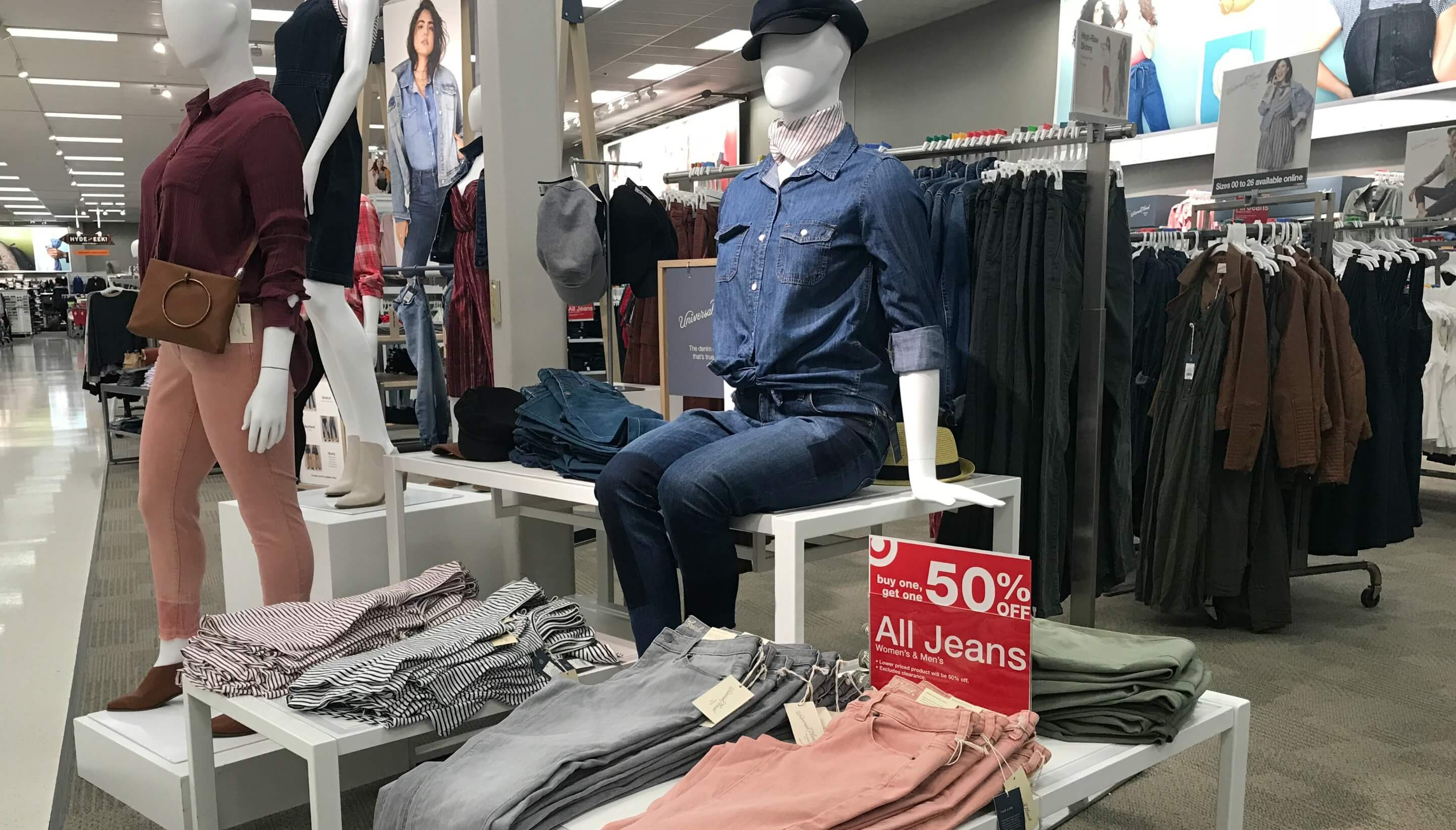 a95cbcc09ce 20% off Women s Apparel at Target - Jeans as low as  14.99