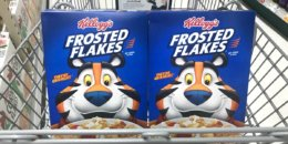 $1.66 Kellogg's Cereals at Walgreens!