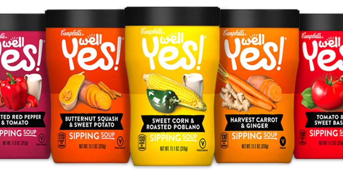 New 0 75 1 Campbell S Well Yes Sipping Soup Coupon 3 Better Than Free At Shoprite Amp More